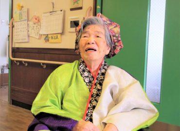 ☆祝100歳☆     びっくり楽しい誕生日会